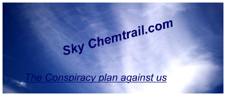Sky Chemtrail conspiracy