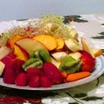mezcla de  frutas  de tu agrado