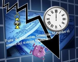 Furia  de Khazarian Satanistas Al perder el control del sistema financiero